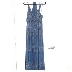 NWT Asos Petite Beaded Maxi Dress/Evening Gown